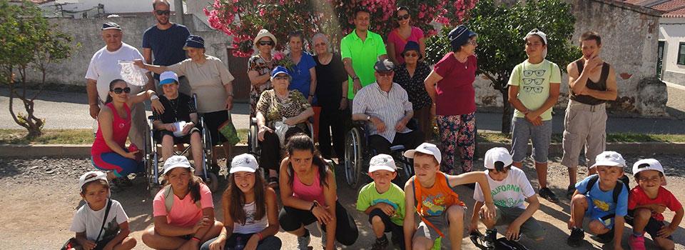 Caminhada do Dia dos Avós com os Animus Jovem